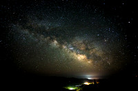 Milky Way view