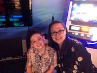 Mom and Jake in Fox5 More Studio
